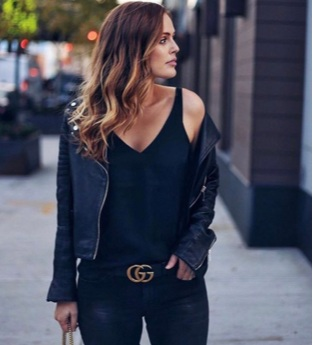 Statement Belts - My wardrobe is quite boring sometimes, and when I really wanna take the edge off my all black outfits and not look like a combat-chick, I love breaking it up with a statement belt. It is my favorite form of jewelry and always looks good.