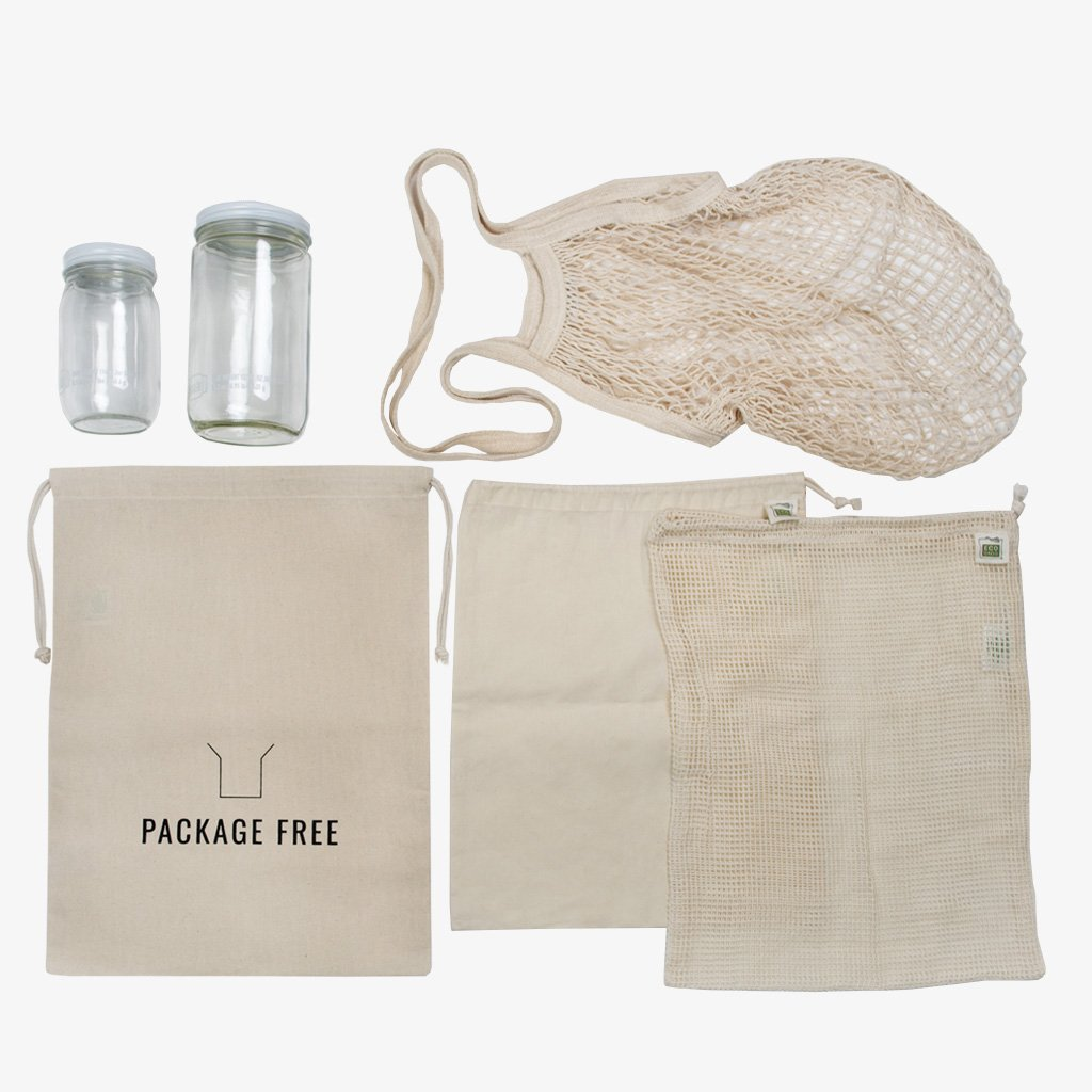 One of the many Zero-waste kits that Package Free Shop offers. Image  via