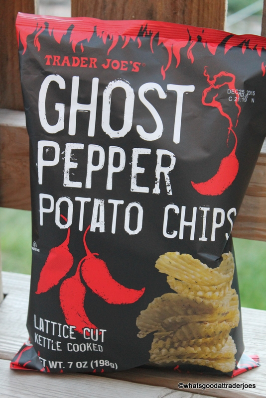 Ghost Pepper Potato Chips - Kettle Cooked nicely cut chips with a little kick and a lot of flavor. Not dip necessary.