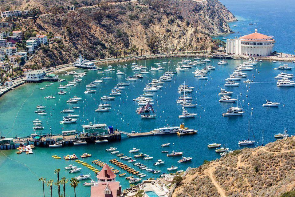 Catalina Island. Image  via .