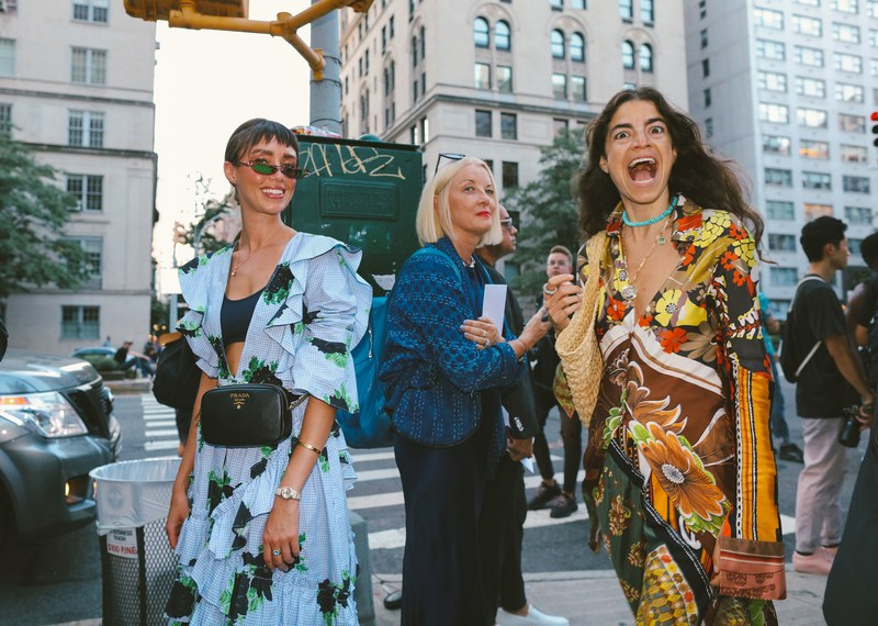 Leandra Medine, Editor in Chief of Man Repeller is positively screaming with joy this season~! Image via