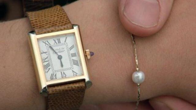 Sloane's Cartier Must de Cartier watch. Image  Via