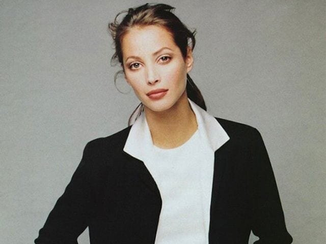 Christy Turlington, the subject of  Catwalk  and the eminent supermodel of the 1990s. Image  via