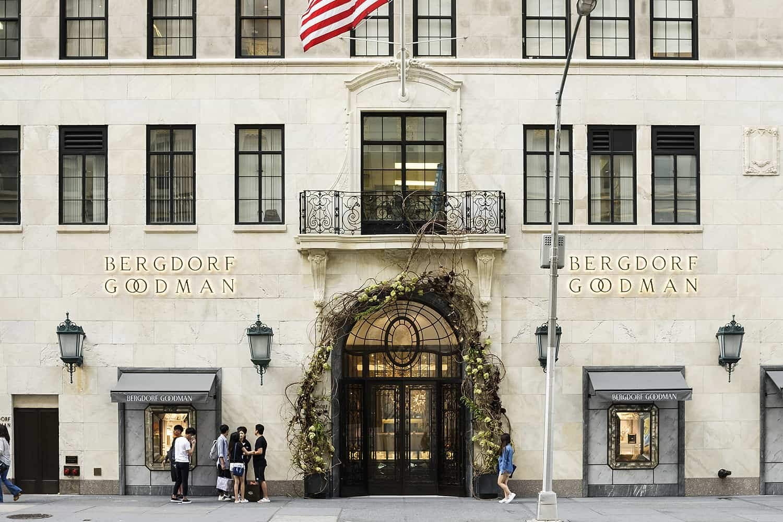 Bergdorf Goodman, a Neiman Marcus owned Manhattan staple for more than a century. Image  Via