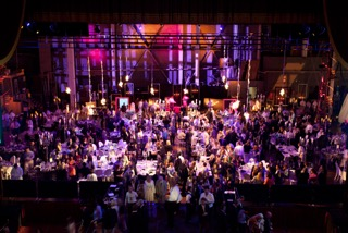 Clarks Dinner for 450 -OnStage