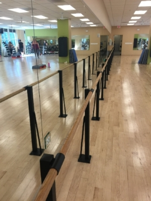 I loved trying out the Barre Classes at my Gym