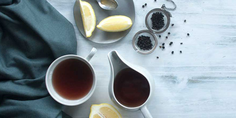See the recipe for Lemon & Elderberry Limonene Tea here