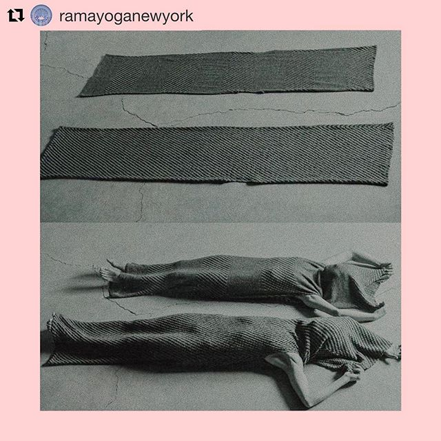 my sound bath script just got a lot shorter. 😆 thanks, @ramayoganewyork! [see caption below] #assumetheposition . #Repost @ramayoganewyork ・・・ Assume the position... #gongbath