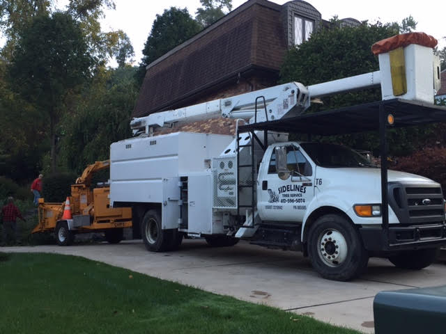 Residential - On the residential side of the business, we offer ALL tree related services, such as; tree removal, trimming, pruning, and shaping, stump removal and grinding, lawn care services, grass mowing and more!
