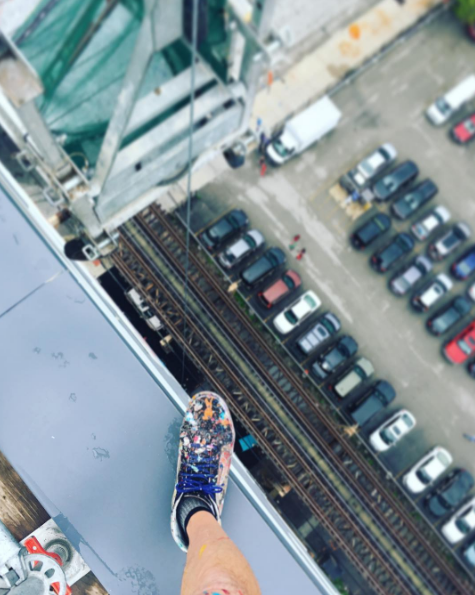 16 Floors Up- SCAFFOLDiNG