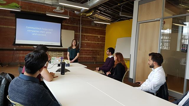 Thanks to everyone at @Communitech for a great tour on Thursday! We were able to learn a ton about the exciting opportunities in the health tech space, and all the resources provided to help make the first step into your own company.