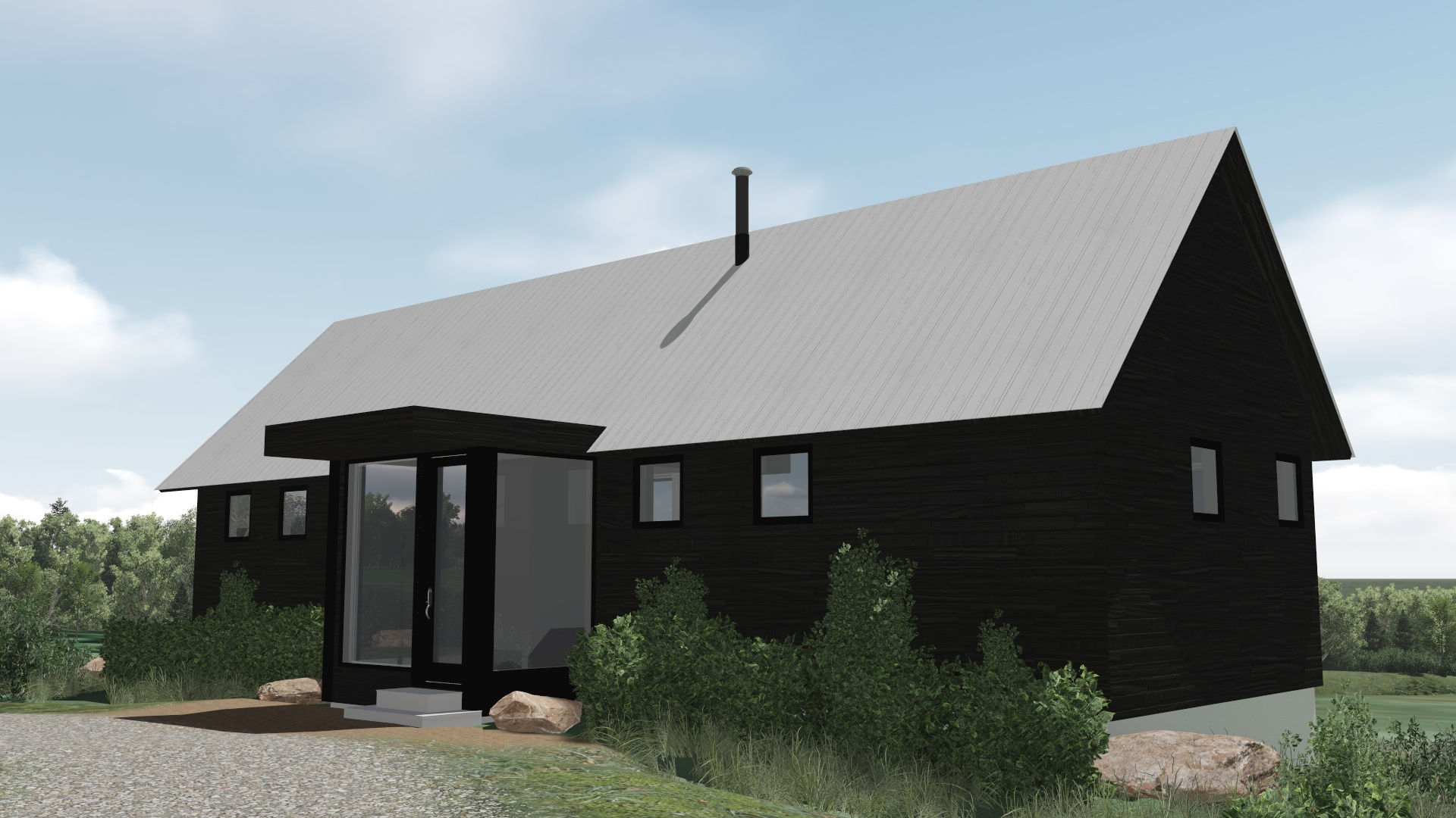 02 - LOW STRAIGHT GABLE