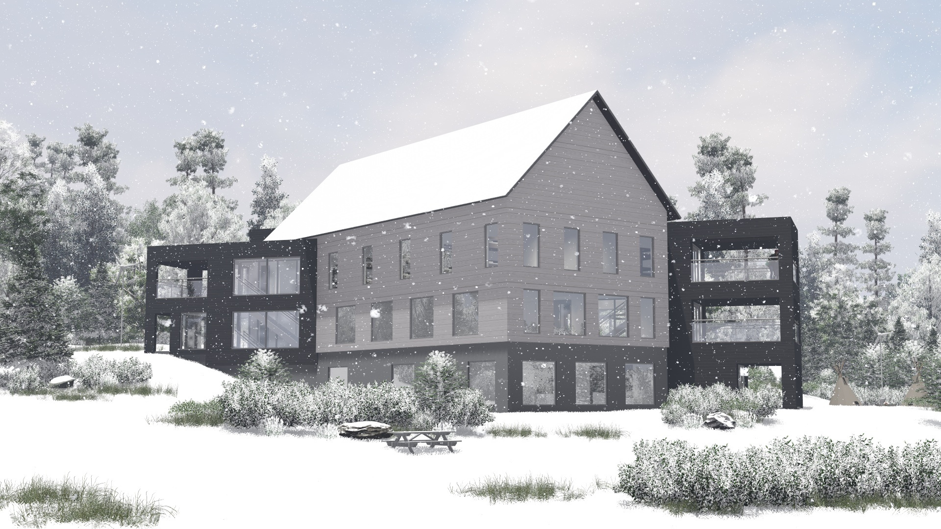 Kimbercote Accommodations Building - 001D - with snow 4.jpg