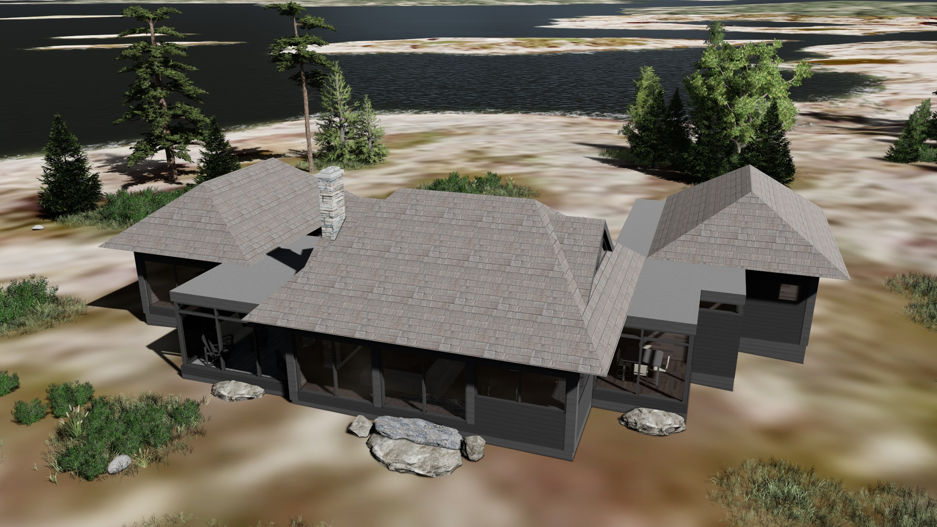 OPTION 3 - HIP ROOFS