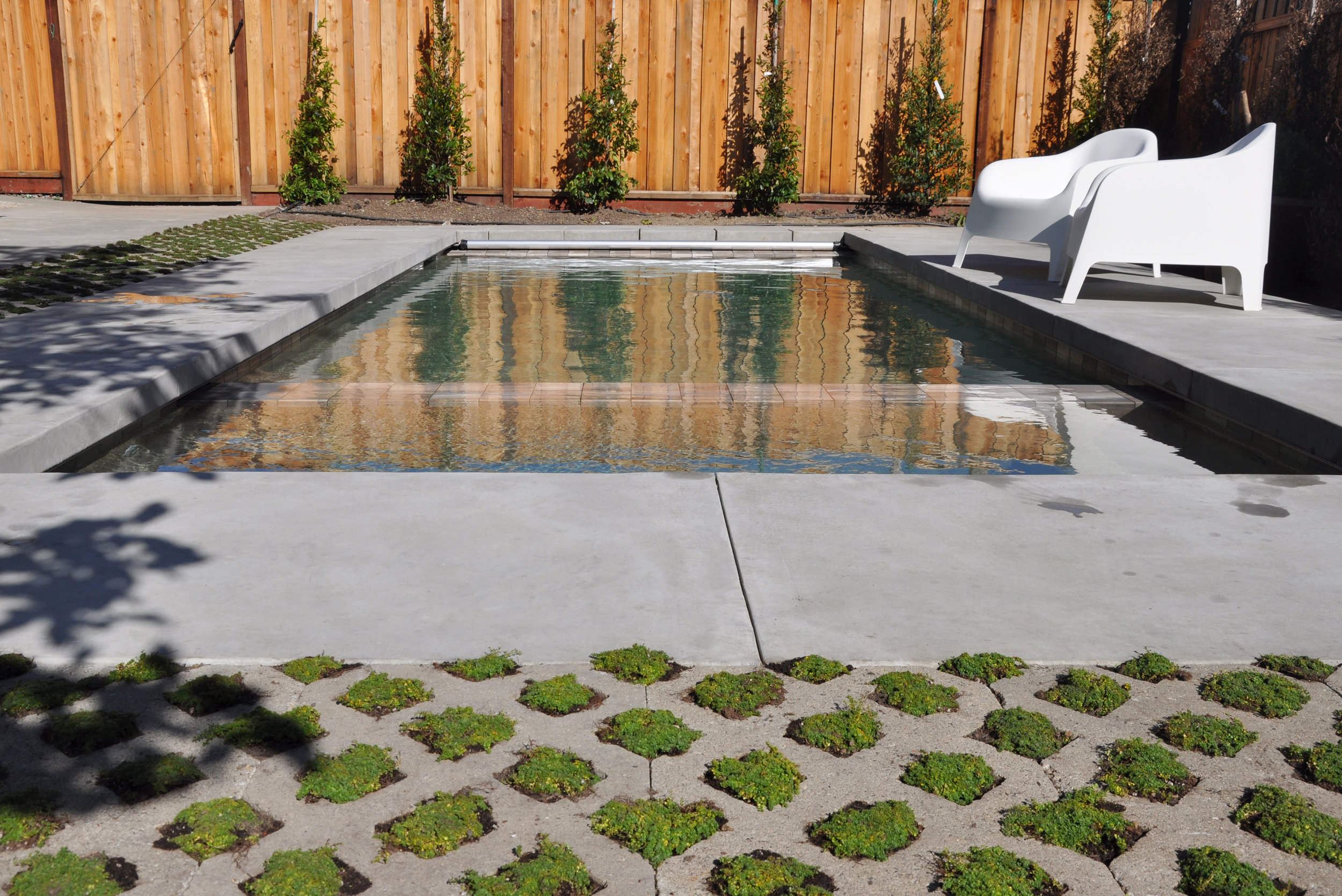relax in the new pool and hot tub