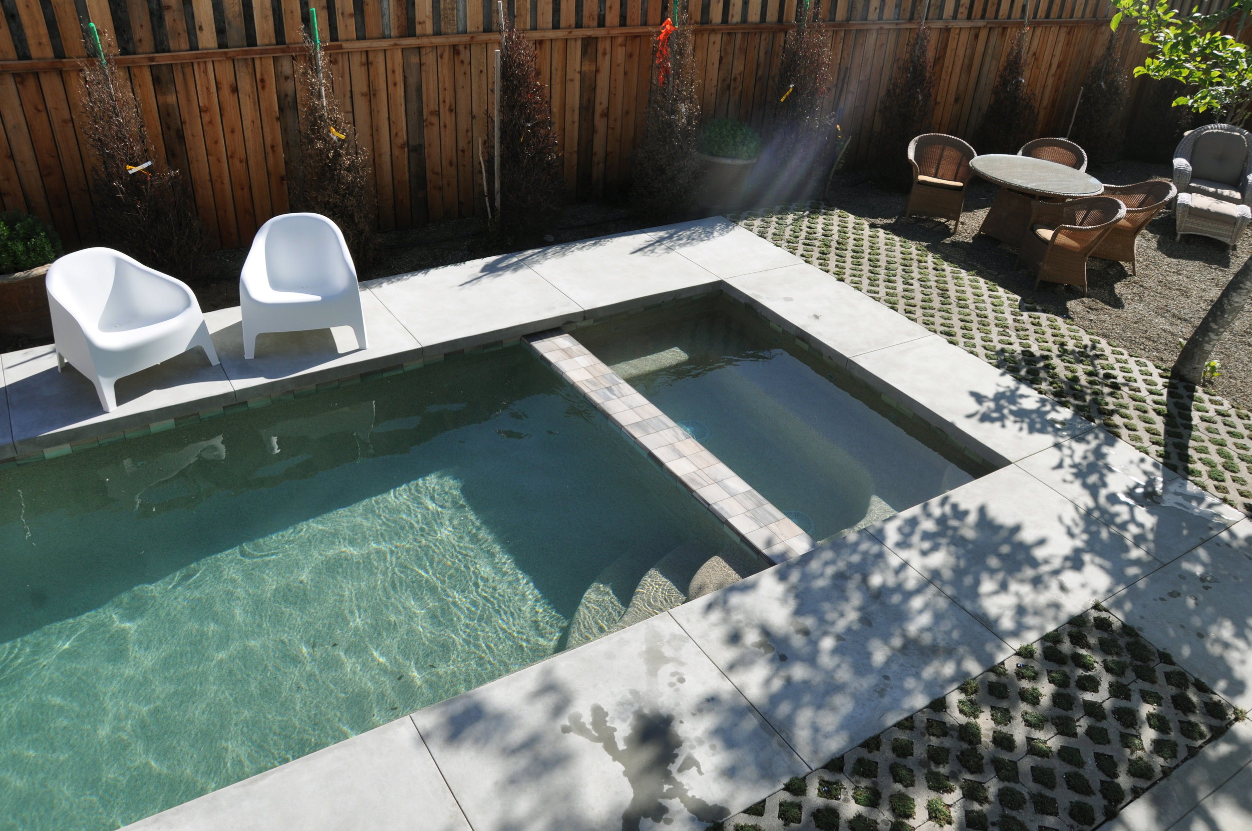 Pool and hot tub, new in 2017