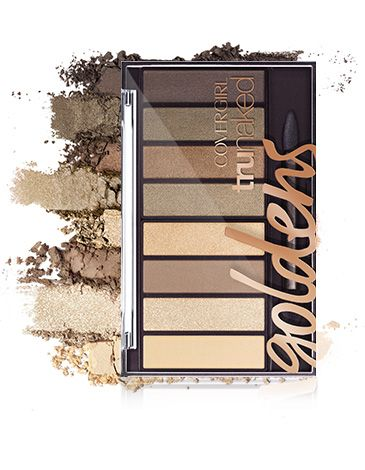 Covergirl Trunaked Goldens Palette ($10)