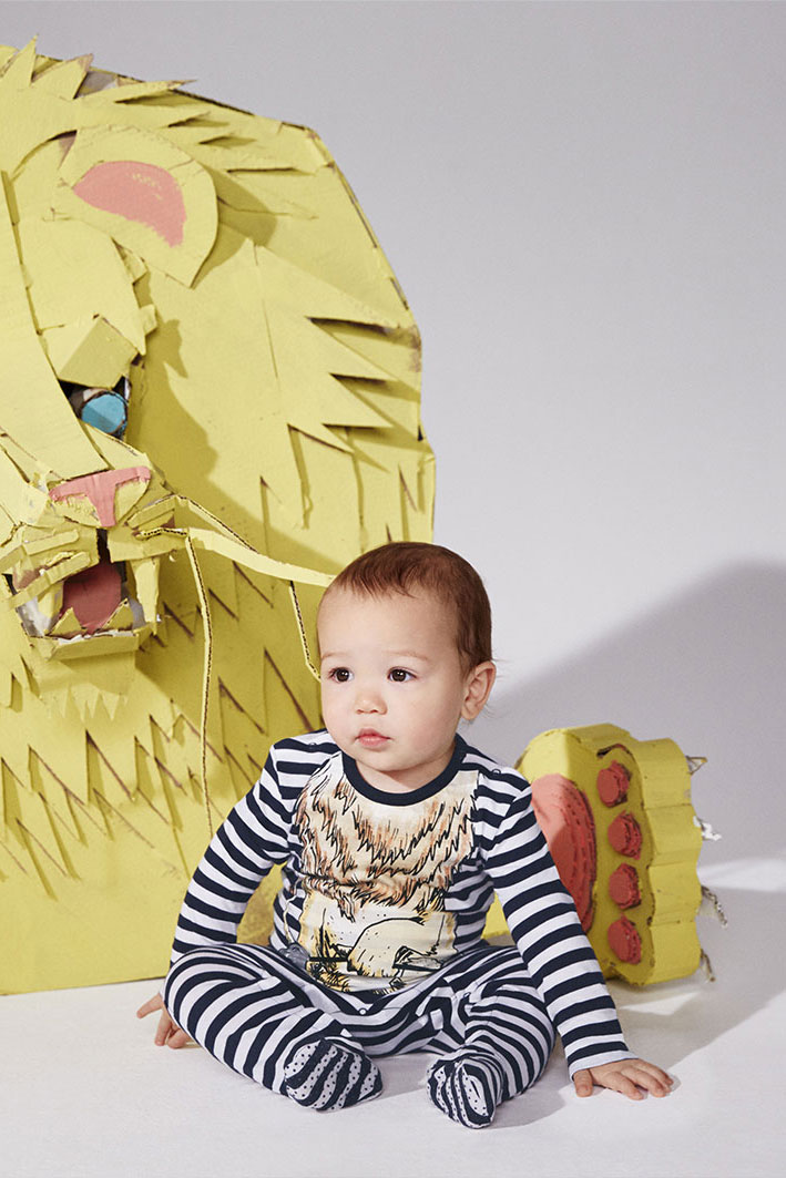 HERE'S SHO LOOKING SUPER SERENE AND CALM IN   STELLA KIDS AW16 CAMPAIGN  .. IN REALITY HE SCREAMED THE STUDIO DOWN AND FELL ASLEEP ON THE JOB MORE THAN ONCE..HA HA HA NICE WORK SHO SHO!!