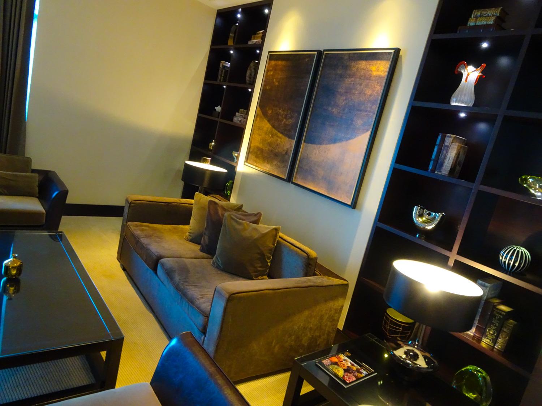 Meeting Room - Executive Lounge - JW Marriott Marquis Dubai  Photo: Calvin Wood