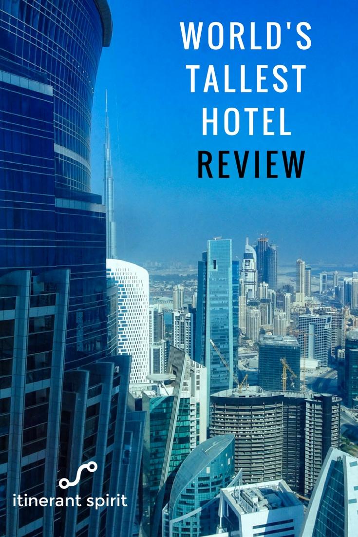 JW Marriott Marquis Review-Itinerant Spirit