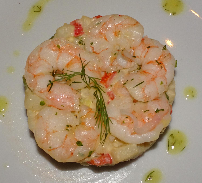 Shrimp Appetizer - NCL Gem  Photo: Calvin Wood
