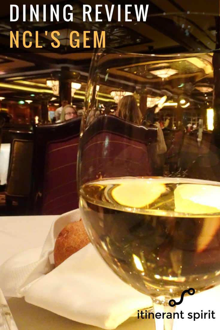 Dining Review - NCL Gem