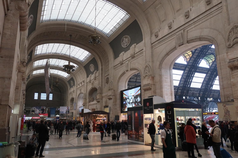 Milano Centrale Photo: Calvin Wood