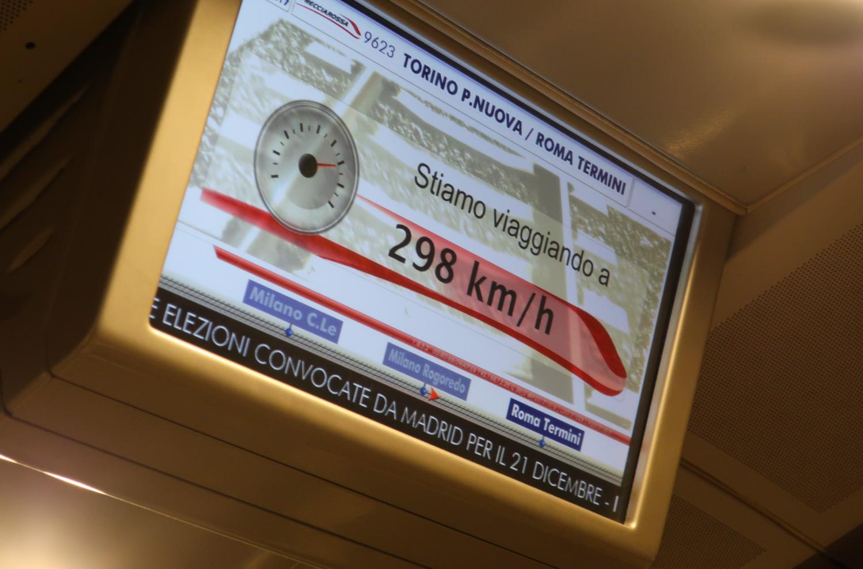 Speed Monitors - Frecciarossa 100 Photo: Calvin Wood