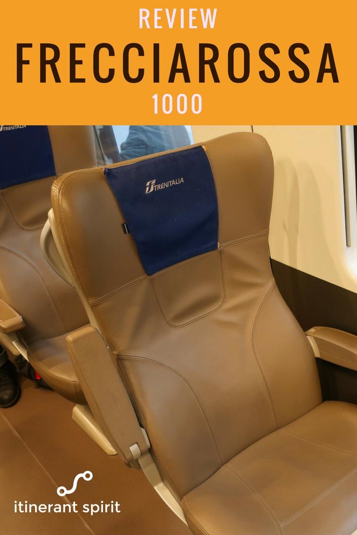 Frecciarossa Italian Rail Business Class Review - Itinerant Sprit Blog