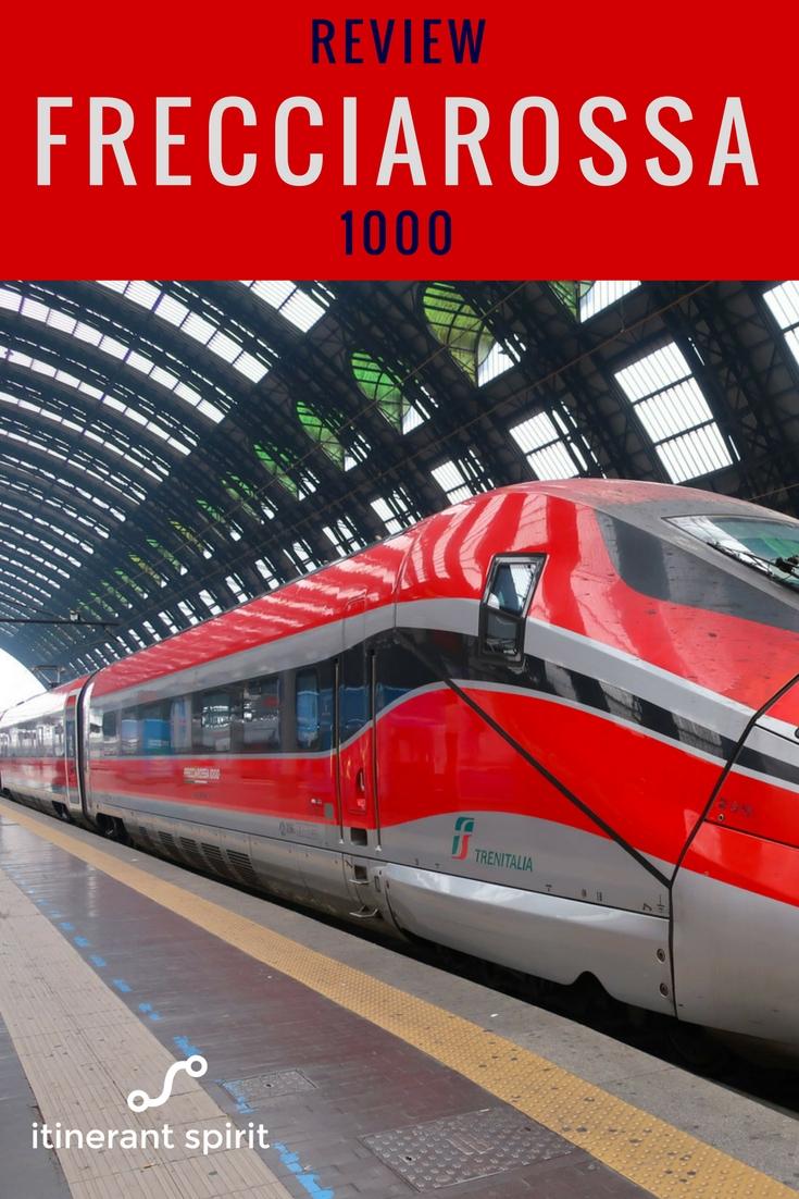 Frecciarossa 1000 Italian Rail Business Class Review - Itinerant Sprit Blog