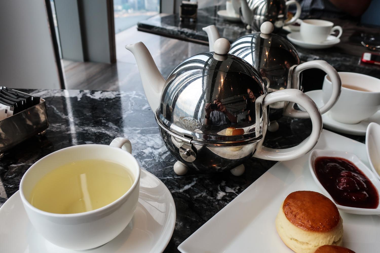 Lots of Tea Options at the Ritz Carlton Hong Kong Photo: Calvin Wood