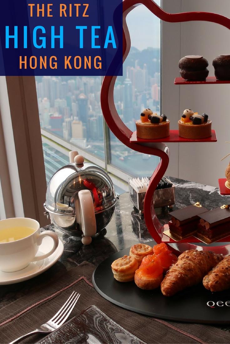 High Tea at the Ritz Carlton Hong Kong - Itinerant Spirit Blog