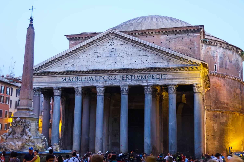 The Pantheon - Rome  Photo: Calvin Wood
