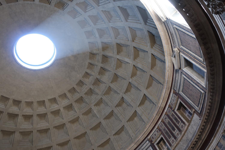 The Pantheon - Skylight - Rome  Photo: Calvin Wood