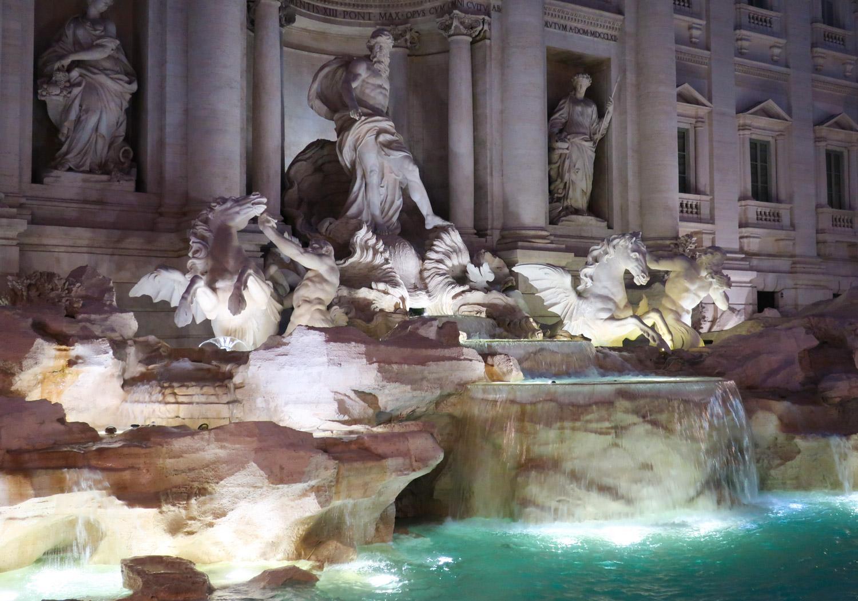 The Fountain of Trevi - Rome  Photo: Calvin Wood