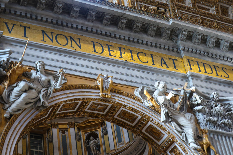 Heavenly Works - St. Peter's Basilica - Rome  Photo: Calvin Wood
