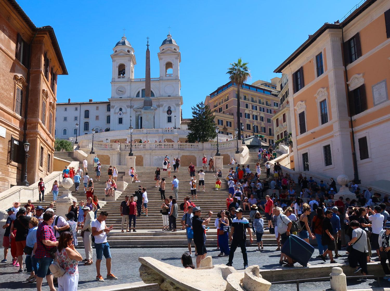 The Spanish Steps - Rome  Photo: Calvin Wood
