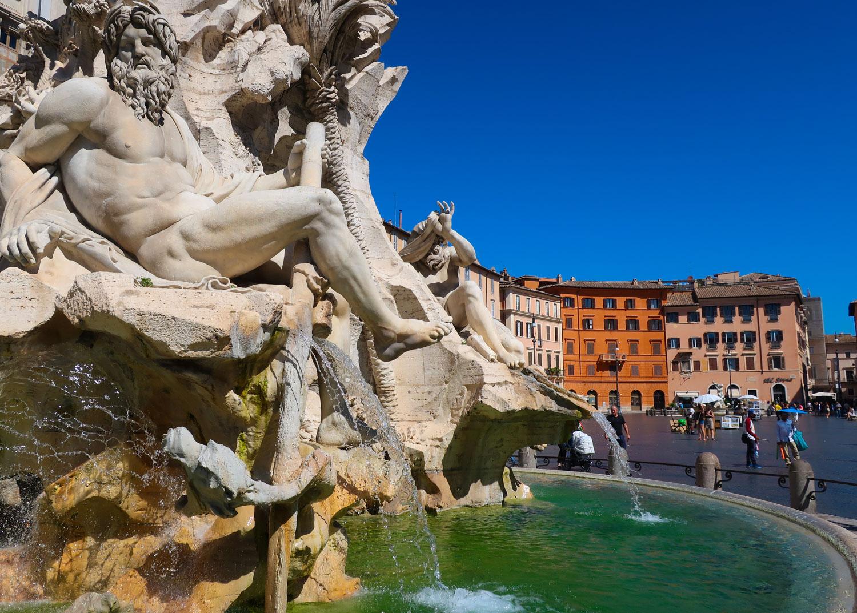 Piazza Navona - Rome  Photo: Calvin Wood
