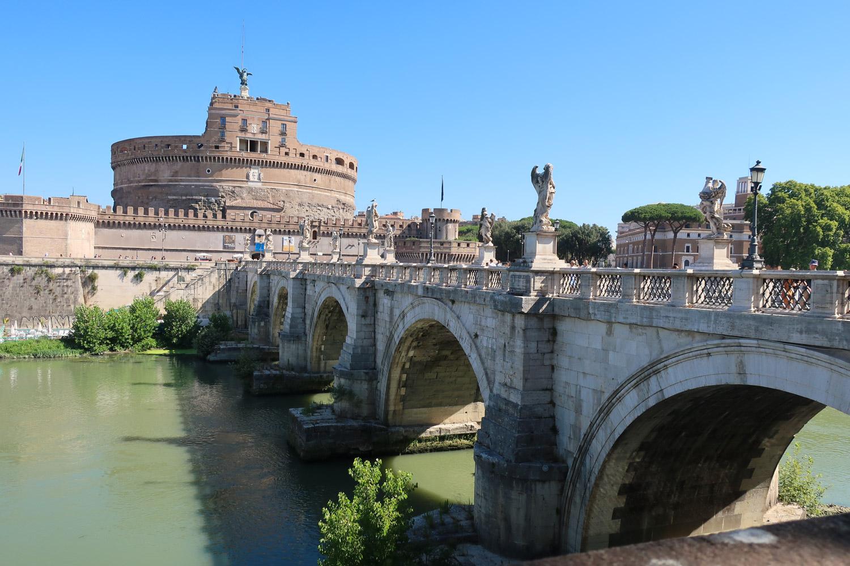 Ponte Sant'Angelo - Rome  Photo: Calvin Wood