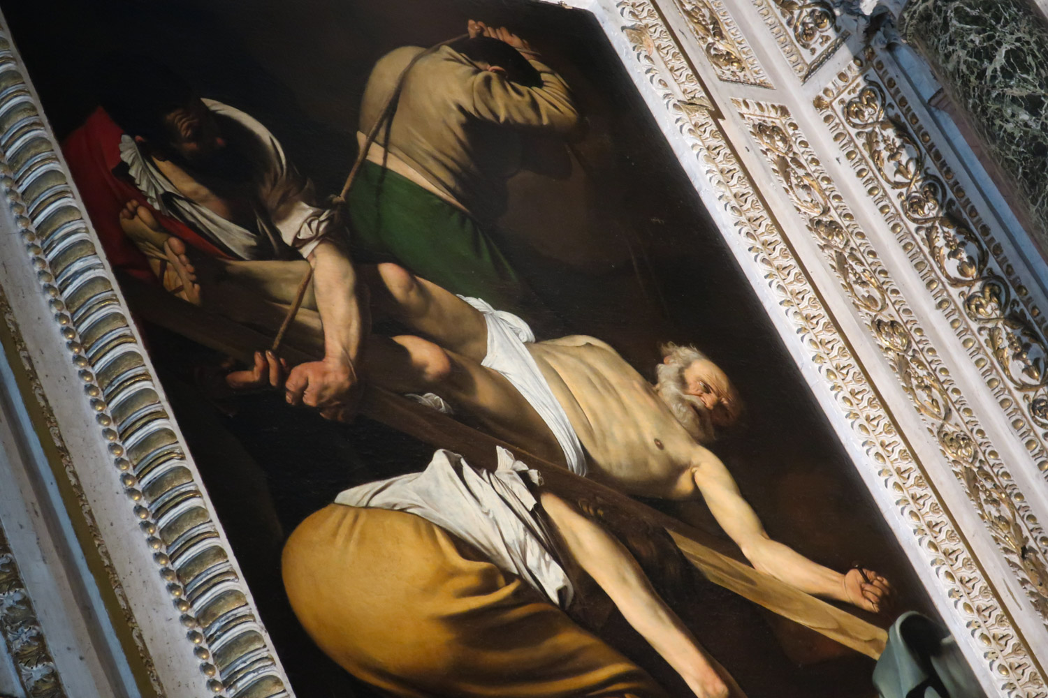 The Crucifixion of St. Peter - Rome  Photo: Calvin Wood