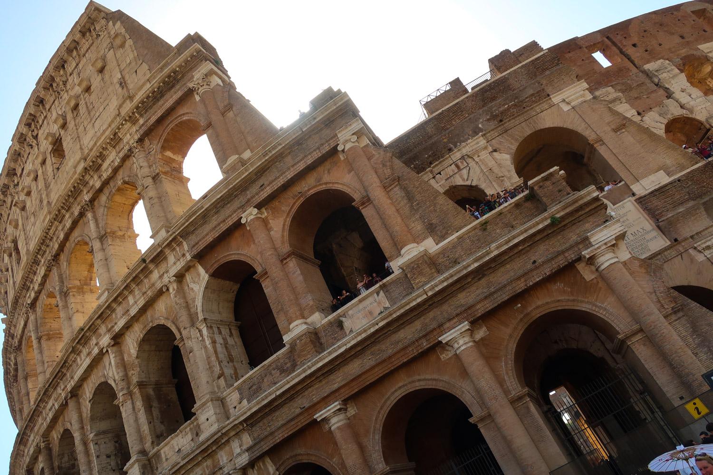 The Colosseum - Rome  Photo: Calvin Wood