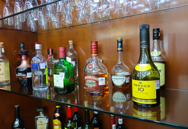 Libations - The Bar - United Club Mexico City  Photo: Calvin Wood