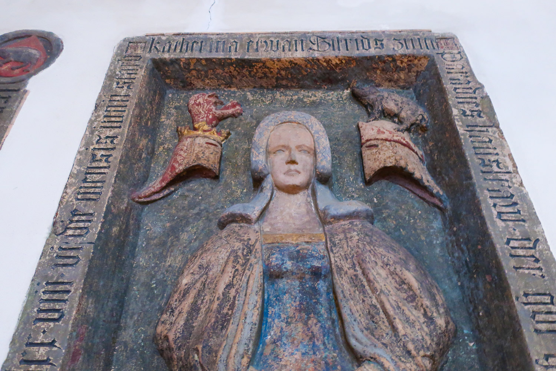 Artwork -  Old St. Nicholas Church  - Frankfurt  Photo: Calvin Wood