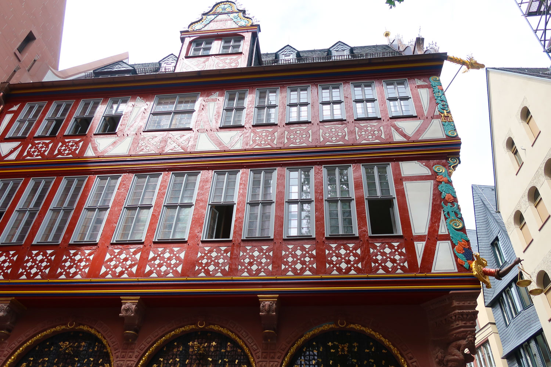 Buildings in the Old Town - Frankfurt  Photo: Calvin Wood