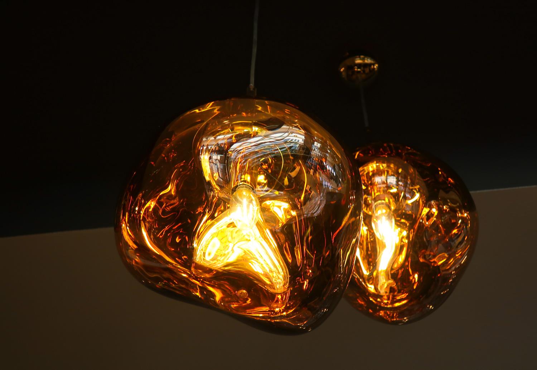 I Love The Lighting! Cool Shapes & Colors - United  Polaris Lounge    Photo: Calvin Wood