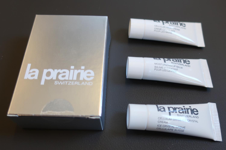 La Prairie Toiletries - Lufthansa First Class to Seoul  Photo: Calvin Wood