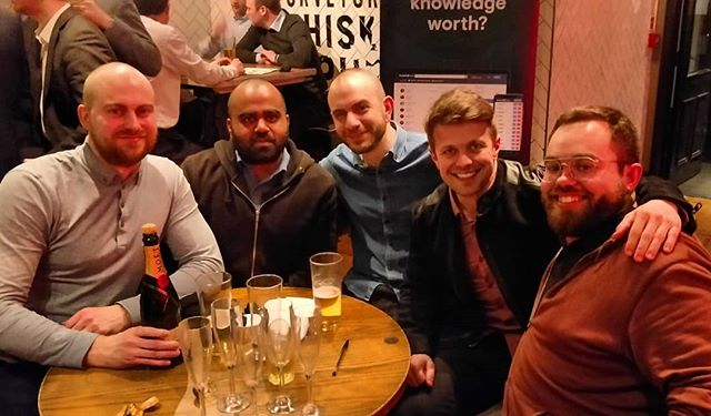 "What a performance by ""Shexyfutbol"" tonight! 3rd Prize winners at the 2019 @footballindexuk Quiz Night! #pubquiz #footballindex #whereshouldiinvest"