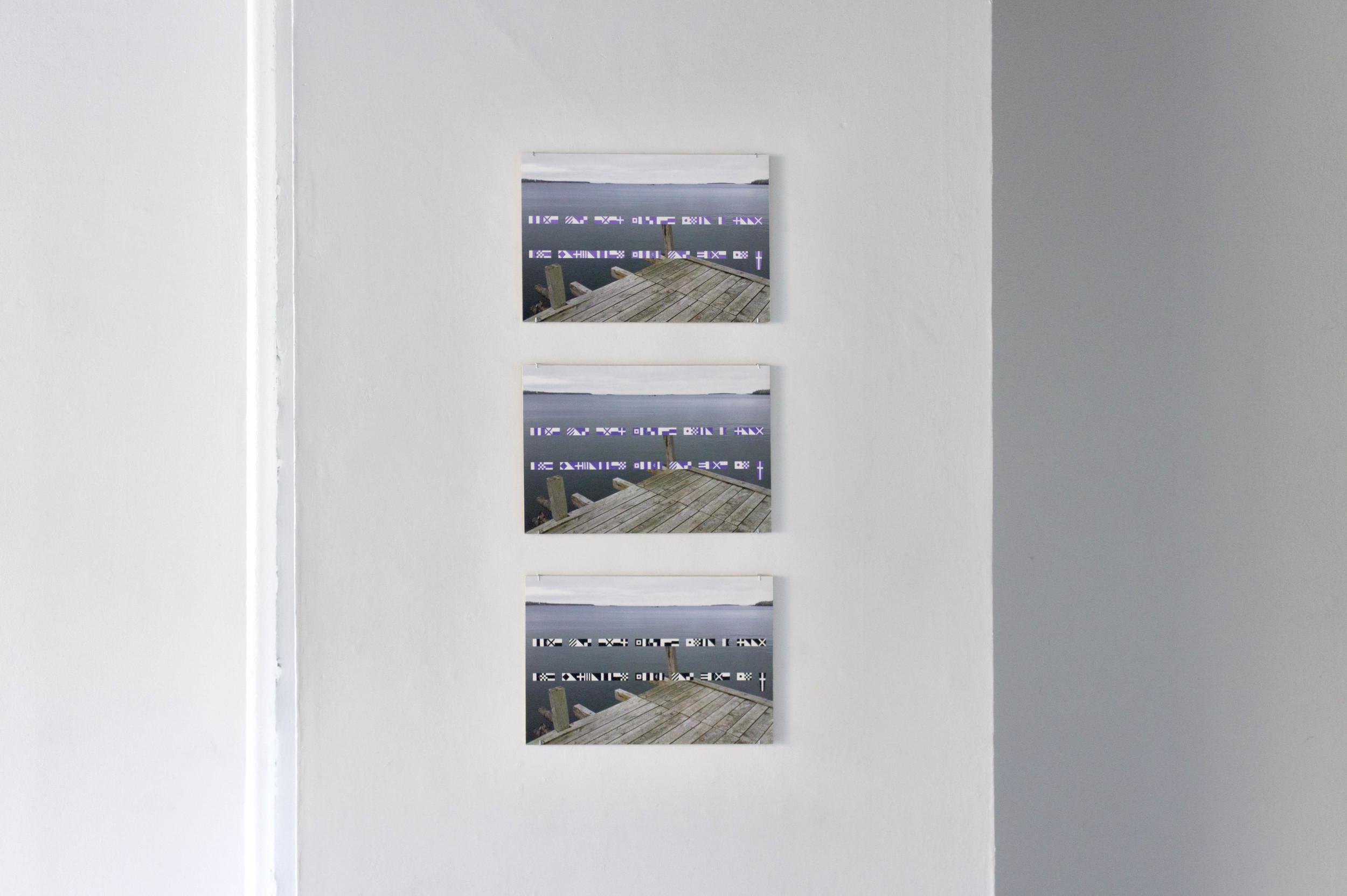 Colloquialism , 2015. Installation views from  Vorspiel  exhibition.Image courtesy of the Anna Leonowens Gallery.