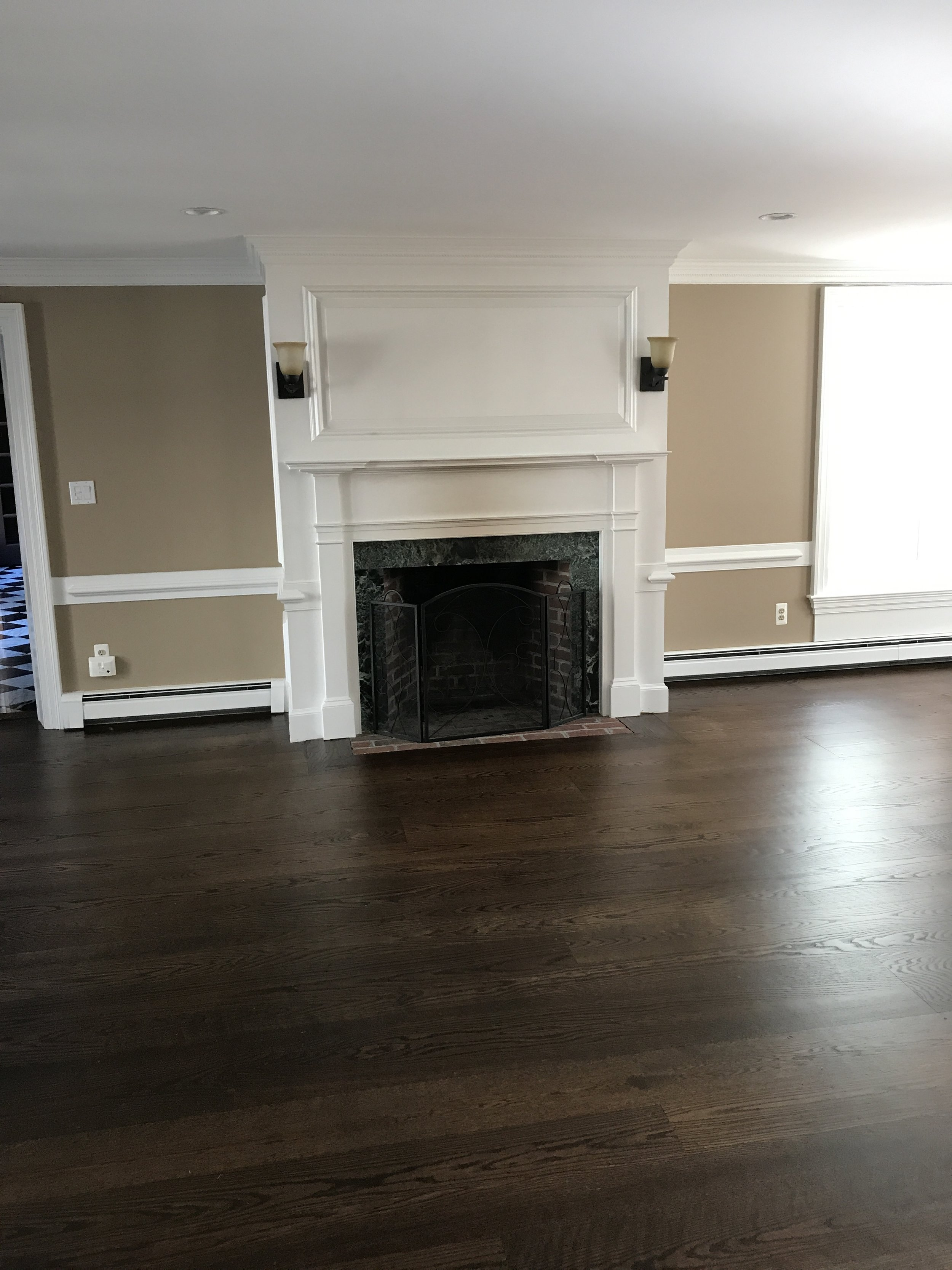 front living room off kitchen