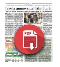 17 febbraio 2017  Telesia ammessa all'Aim Italia